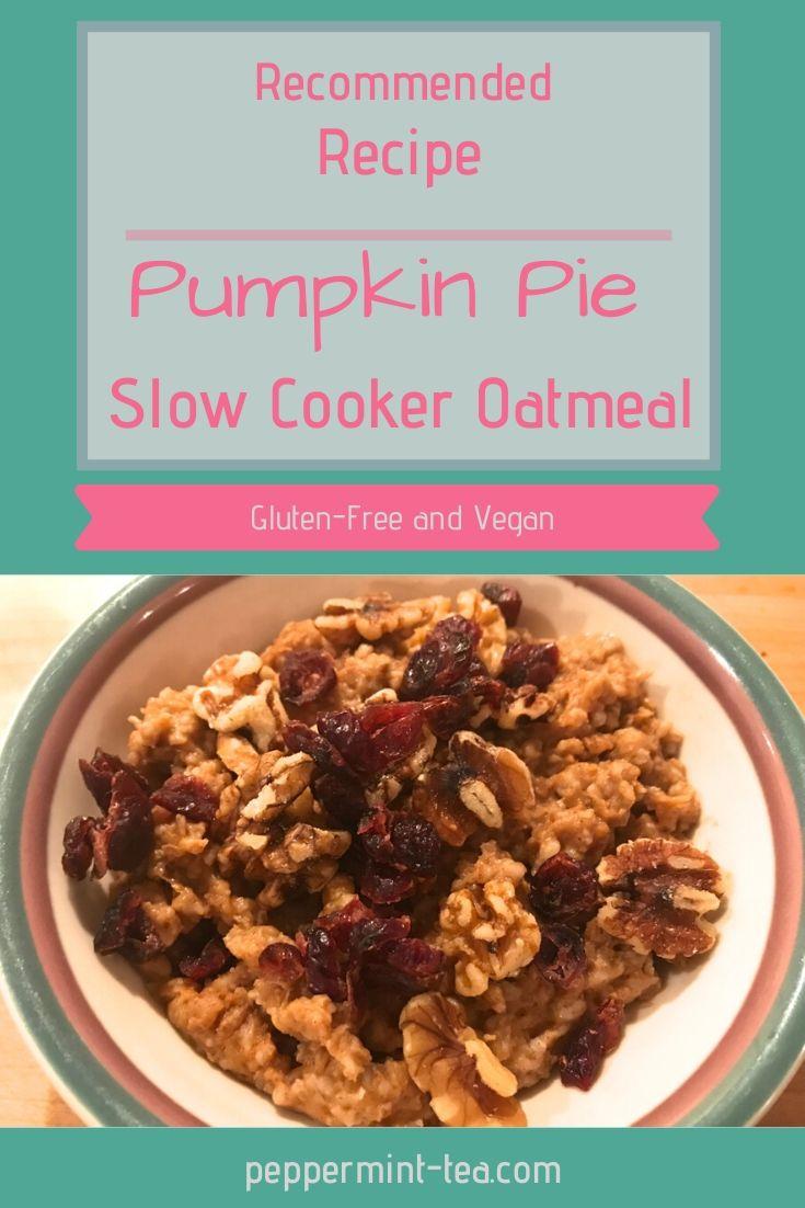 slow cooker oatmeal