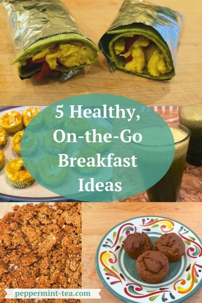 Photos of 5 Healthy On-the-Go Breakfast Ideas