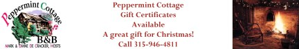 Peppermint Cottage Gift Cert