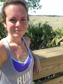 Going for a run around Beaufort, SC