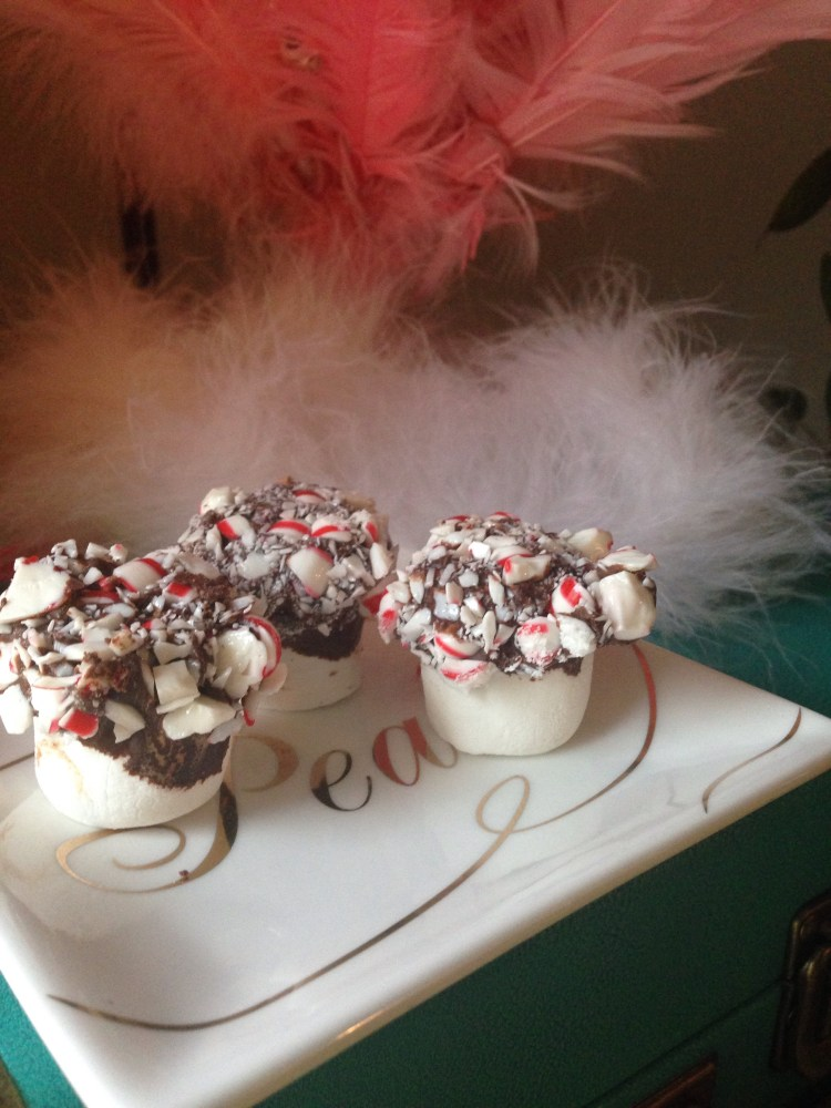 Chocolate Peppermint Marshmallows (1/3)