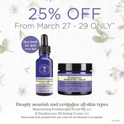 Flash Sale. Neal's Yard Remedies. Frankincense.