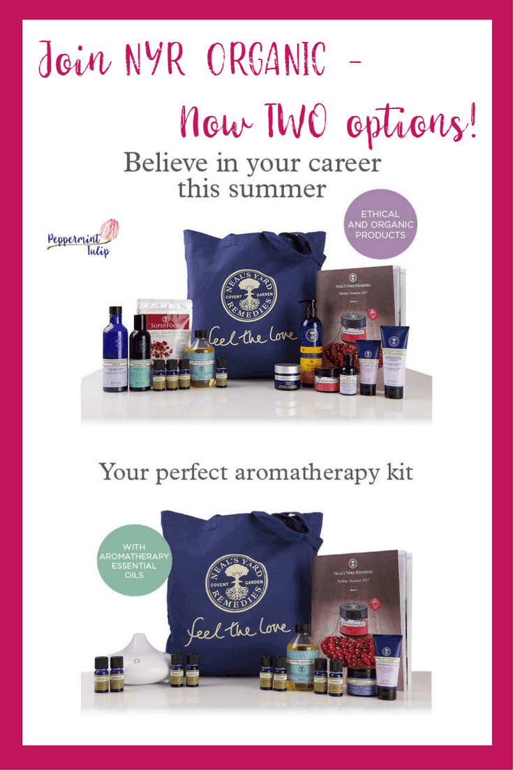 NYR Organic May Joining Kits - including a new Aromatherapy centered kit!