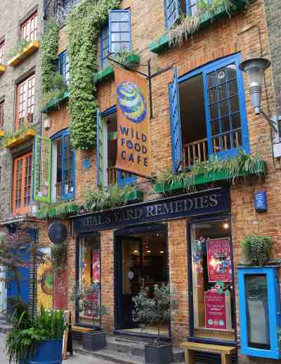 The original Neal's Yard Remedies store in Covent Garden.