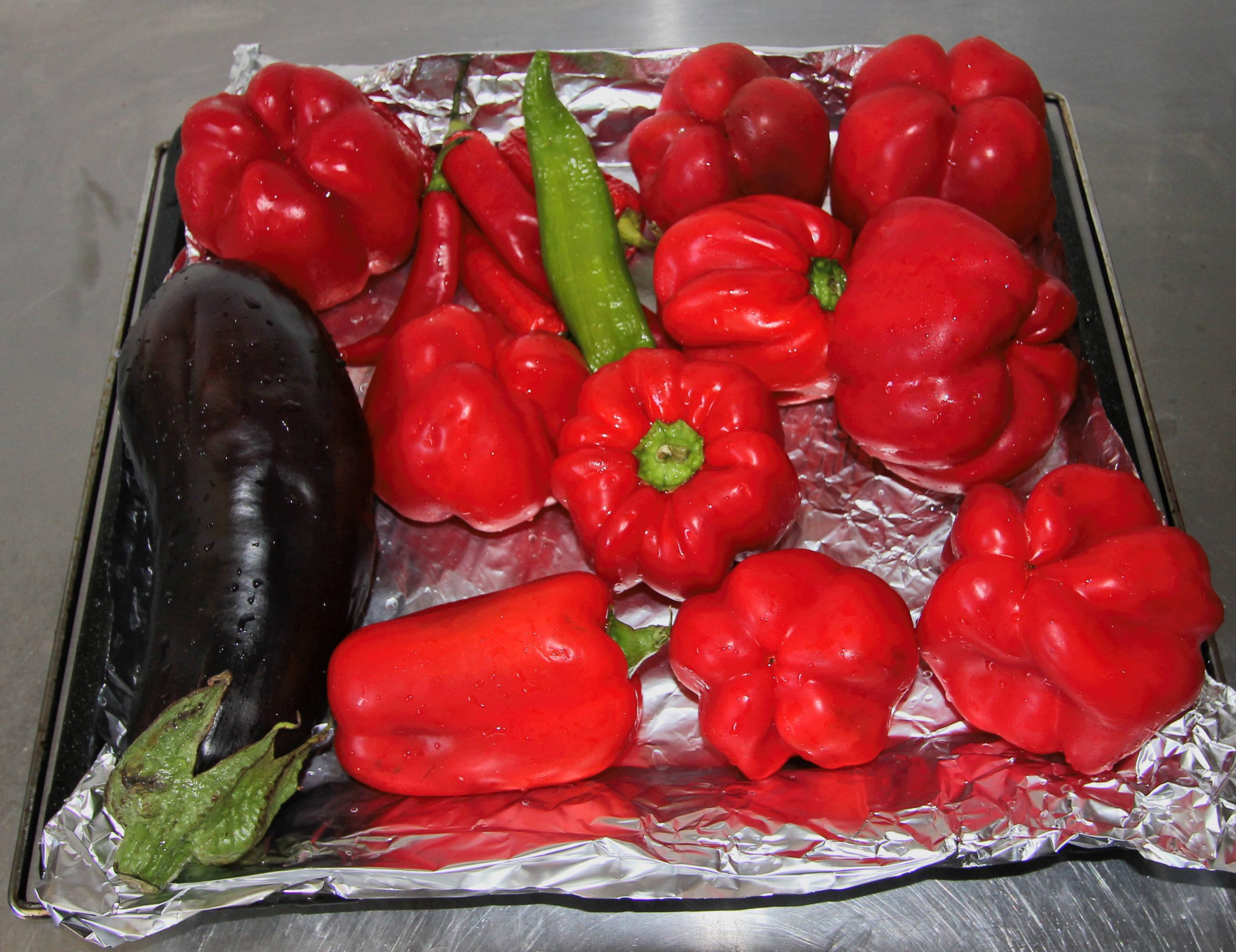 Ajvar ingredients