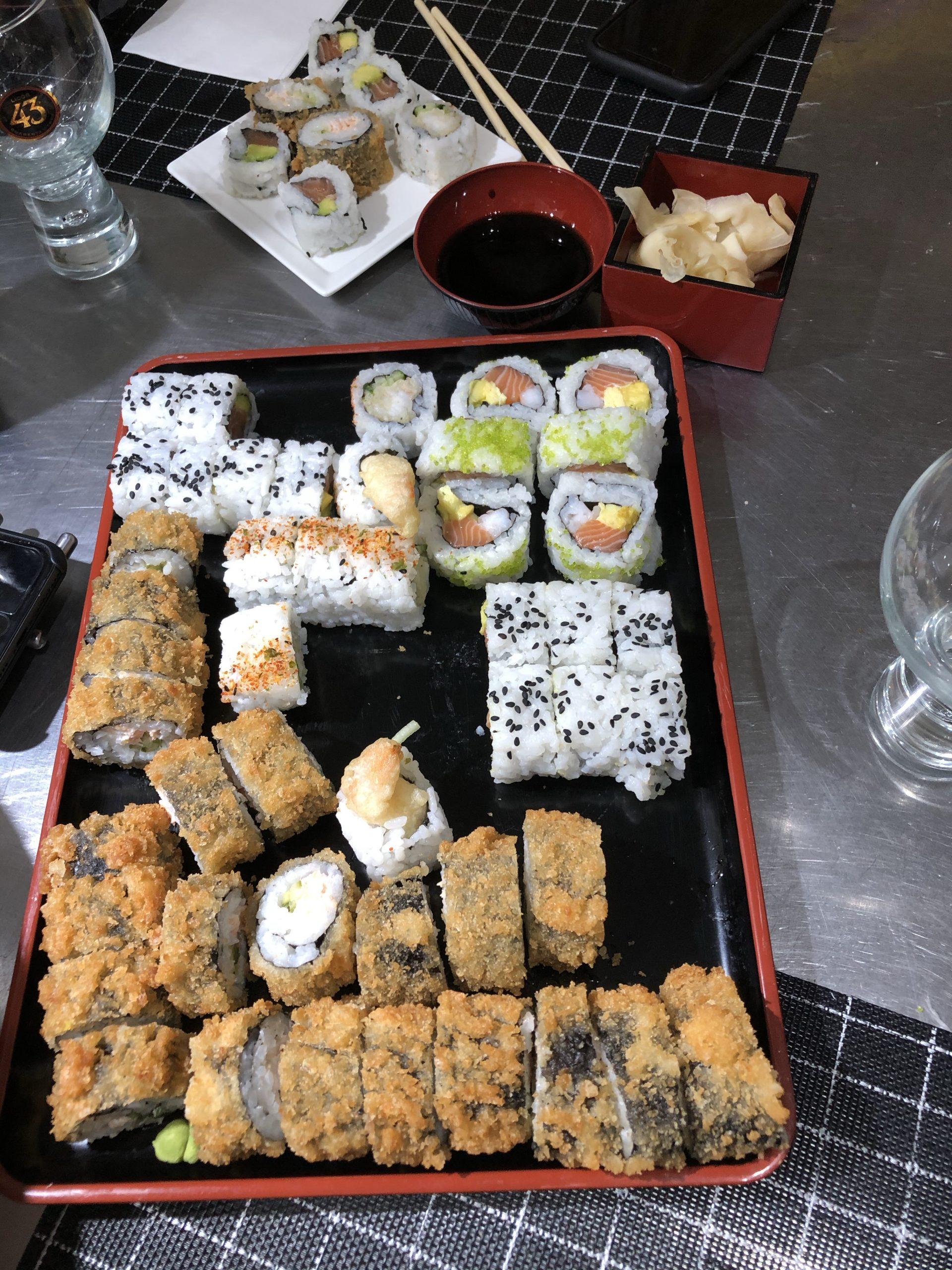 Takeaway Sushi In Lockdown