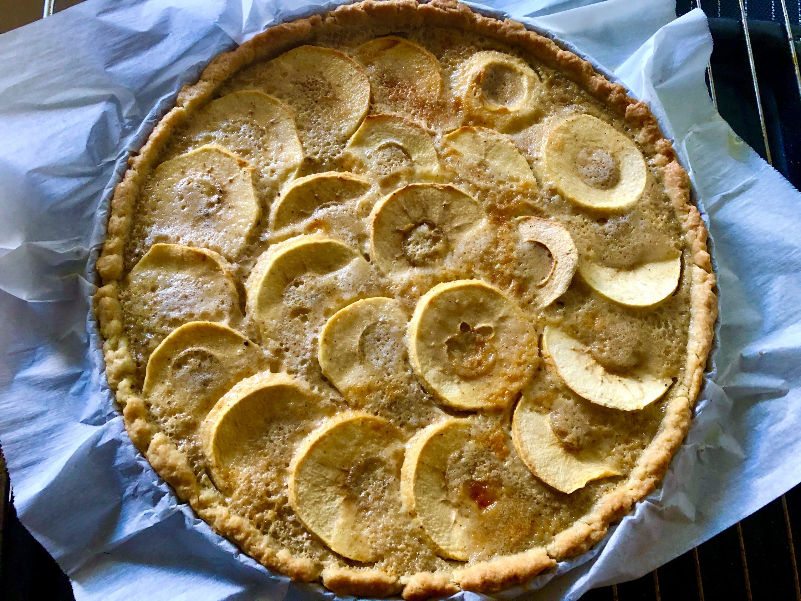 Tarte Normande (Normandy Apple Tart)