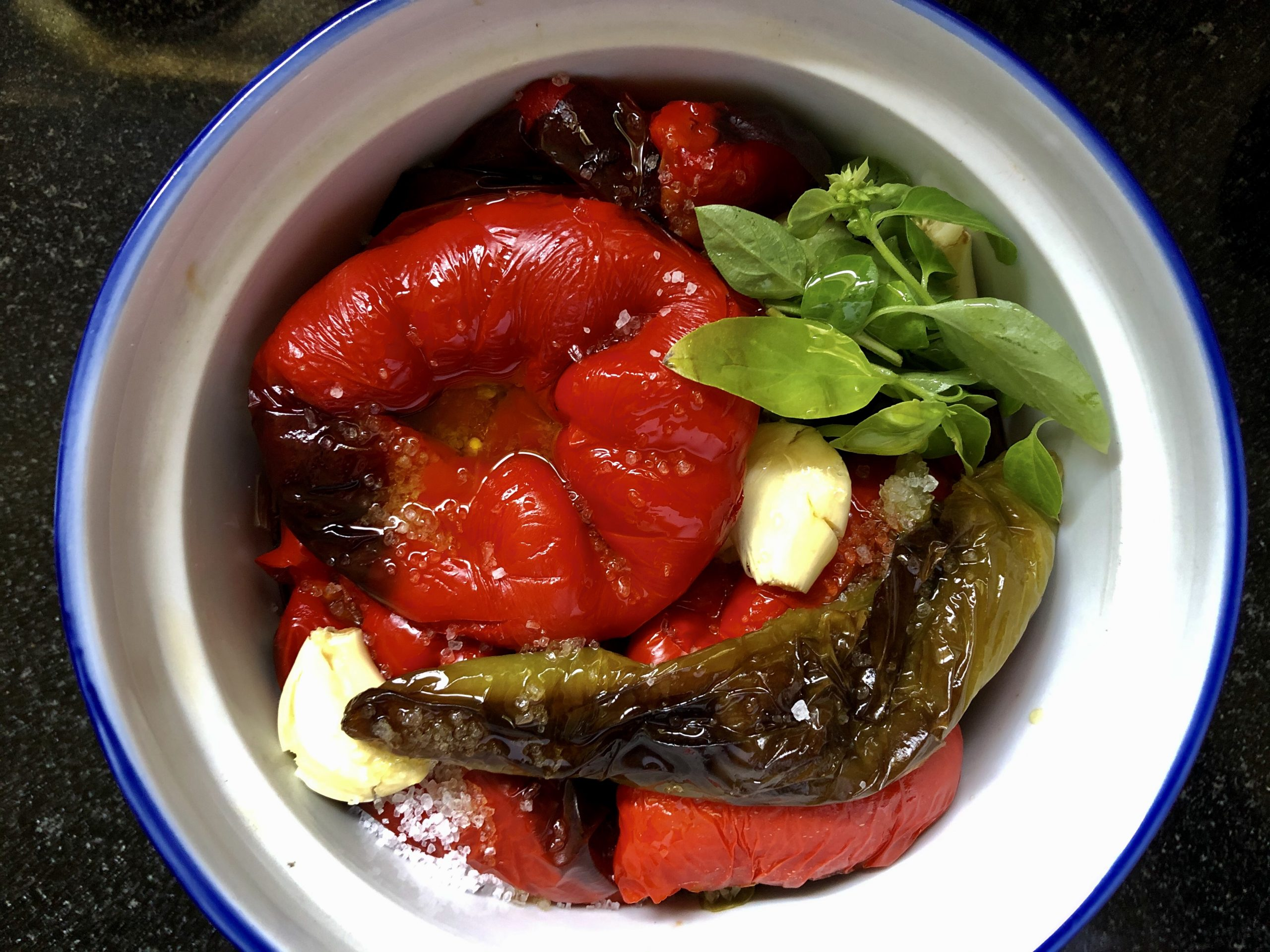 Ajvar in three steps, quick and easy