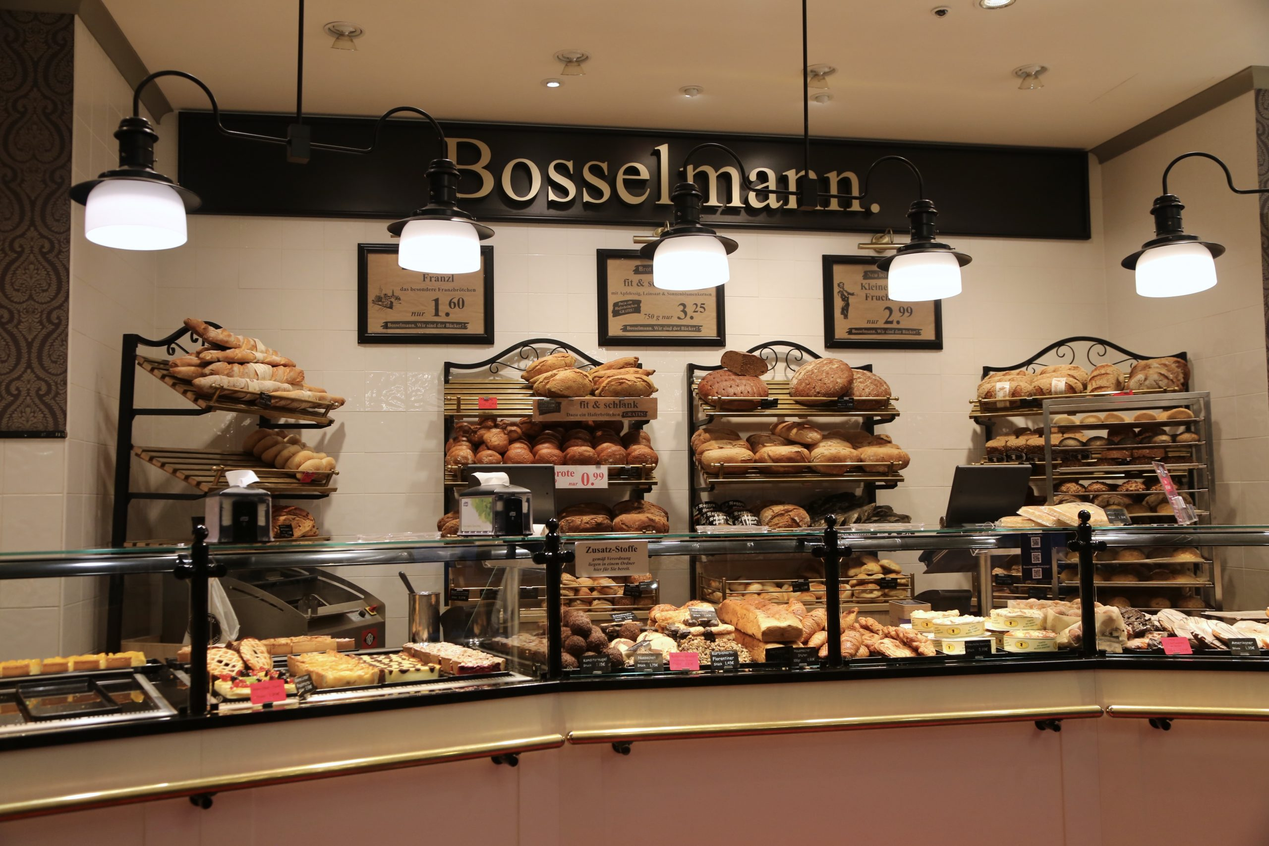 Bosselmann, an amazing German bakery chain