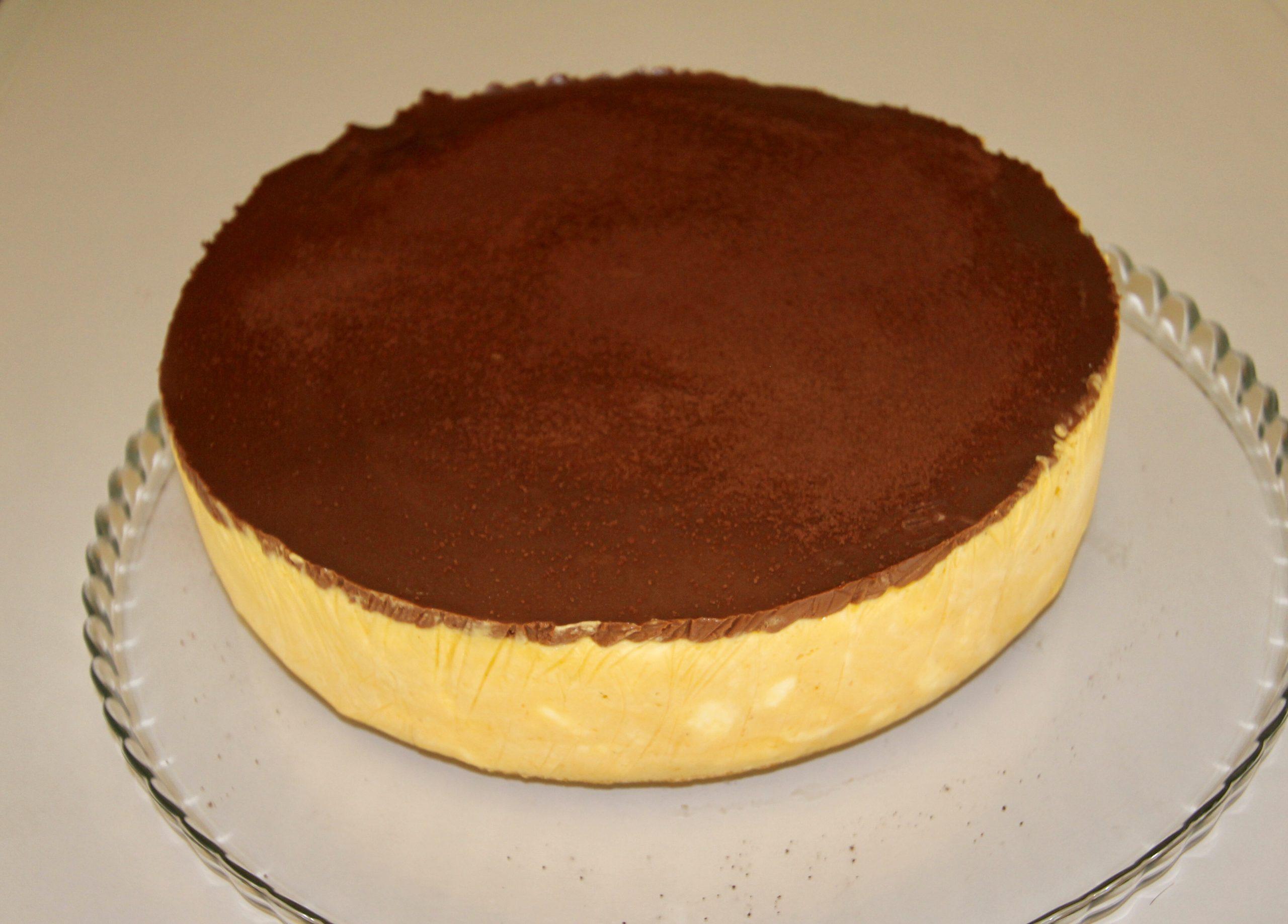 Mango Chocolate Semifreddo