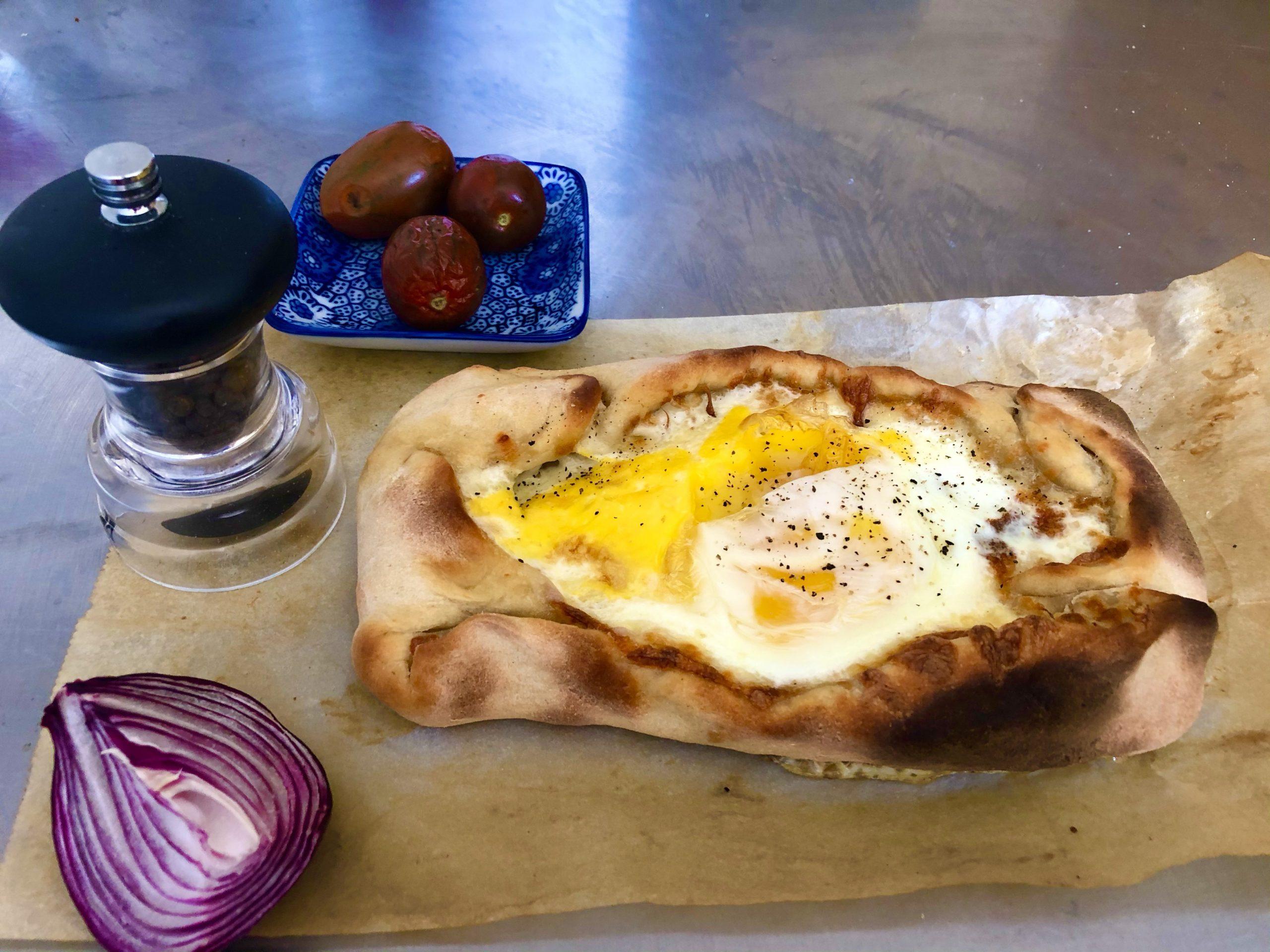 Khachapuri (Georgian Cheese Bread)