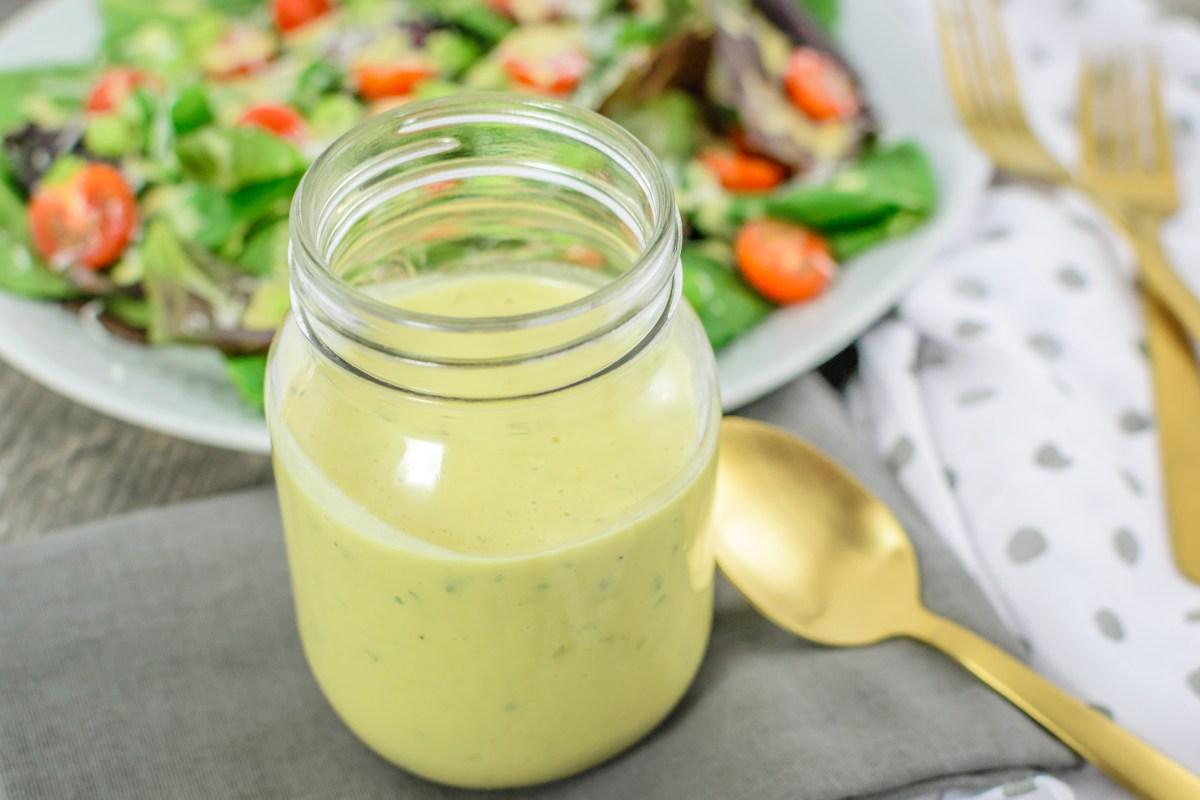 Vinaigrette Caesar Salad Dressing