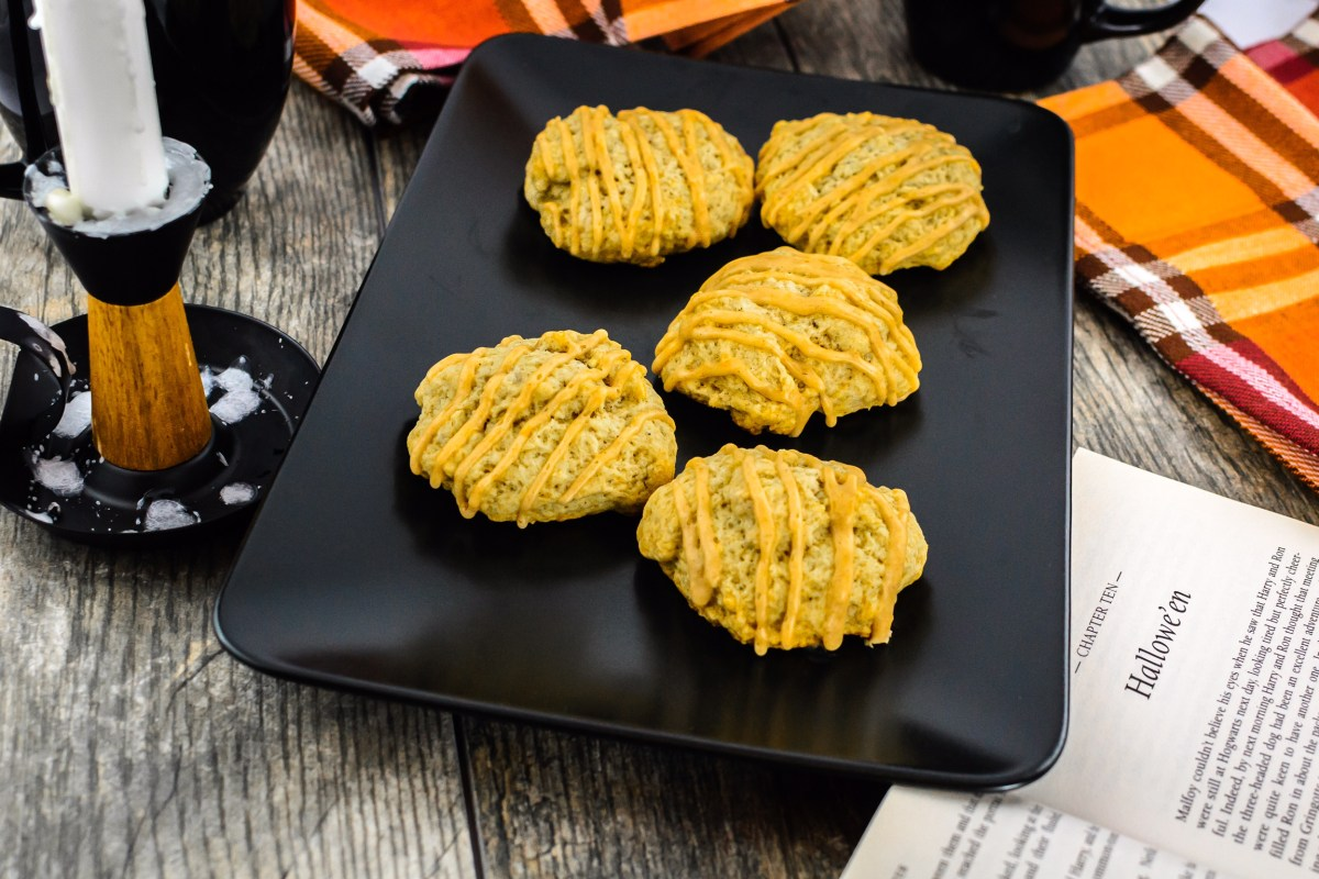 Hagrid's Pumpkin Patch Rock Cakes