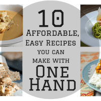 10 Affordable, Easy Recipes You Can Make With One Hand