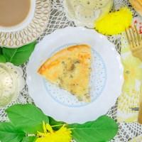 Cheese & Mushroom Quiche