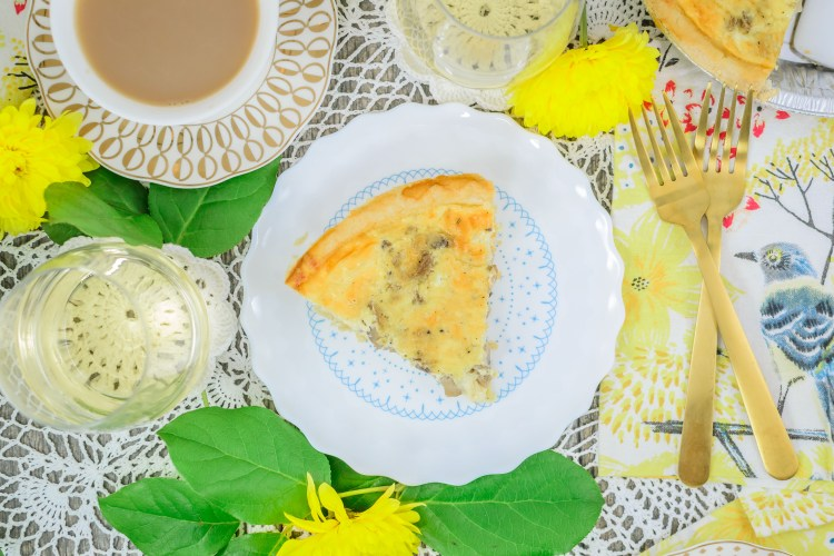 Easy Quiche with Cheese