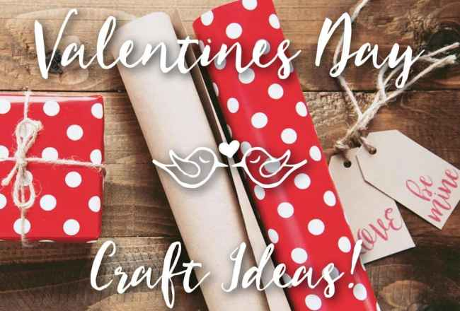 Valentines Day Craft Ideas Inspiration Roundup