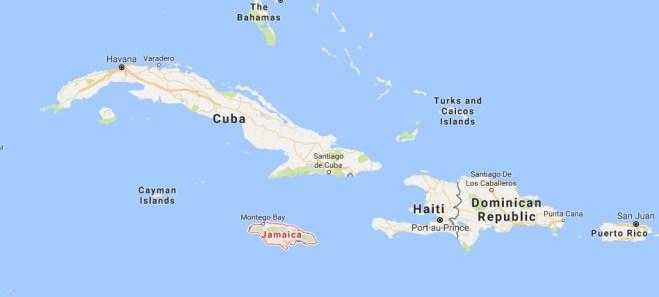 Jamaica Source: Google Maps