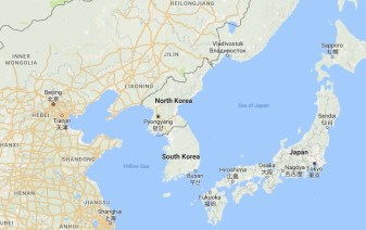 North Korea and South KoreaSource: Google Maps