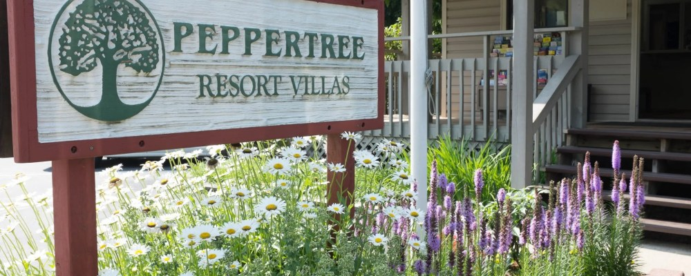 Peppertree Maggie Valley Entrance