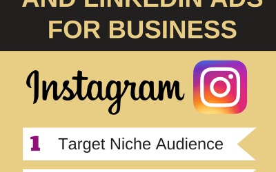 Infographic: Using Instagram and LinkedIn Ads for Business