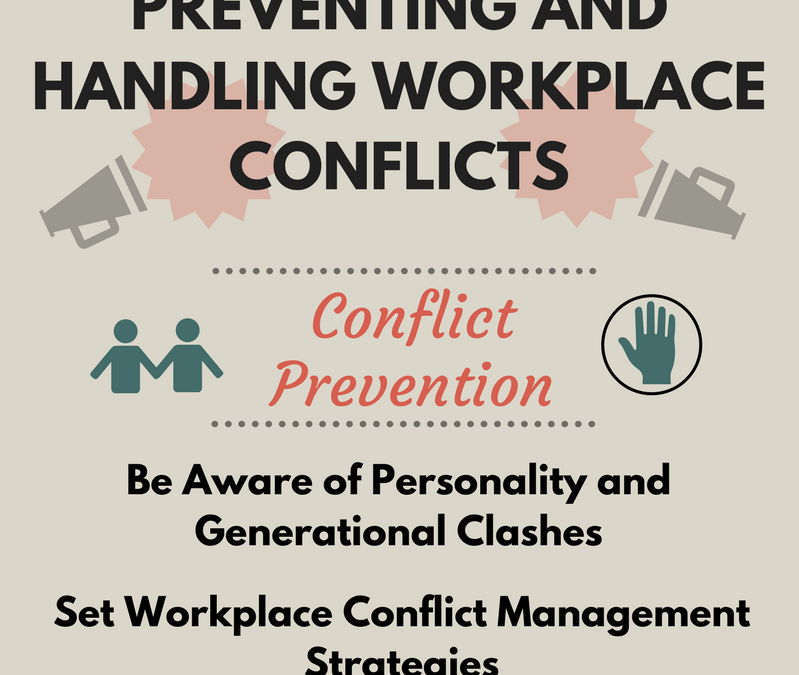Infographic: Preventing and Handling Workplace Conflicts