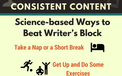 Infographic: How to Beat Writer's Block and Create Consistent Content