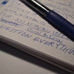 Notebook – Question Everything