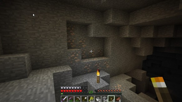 Minecraft 1.3.1 - Weird Iron-Ore Spawn