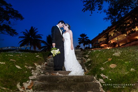 Wedding Photos at Gamboa Rainforest