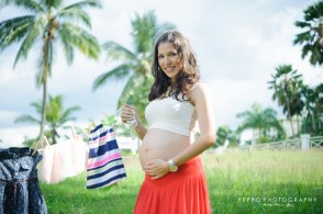 sesion de fotos para embarazadas al aire libre