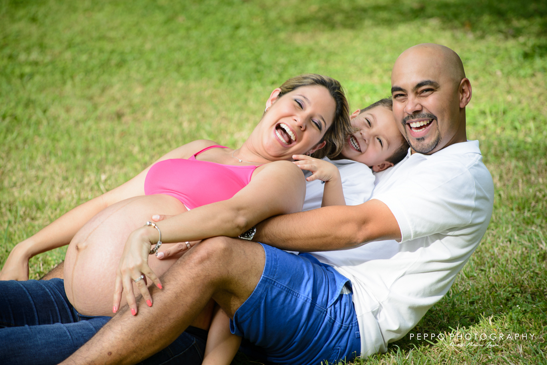 Maternity photo session in panamá viejo