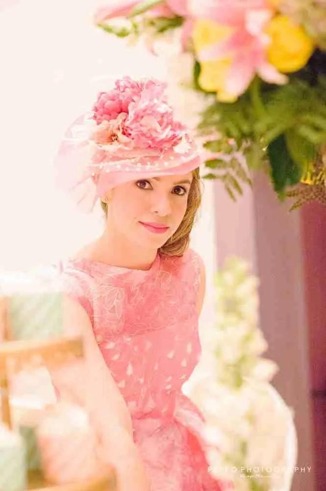 Retrato de Johanna en su Bridal Shower