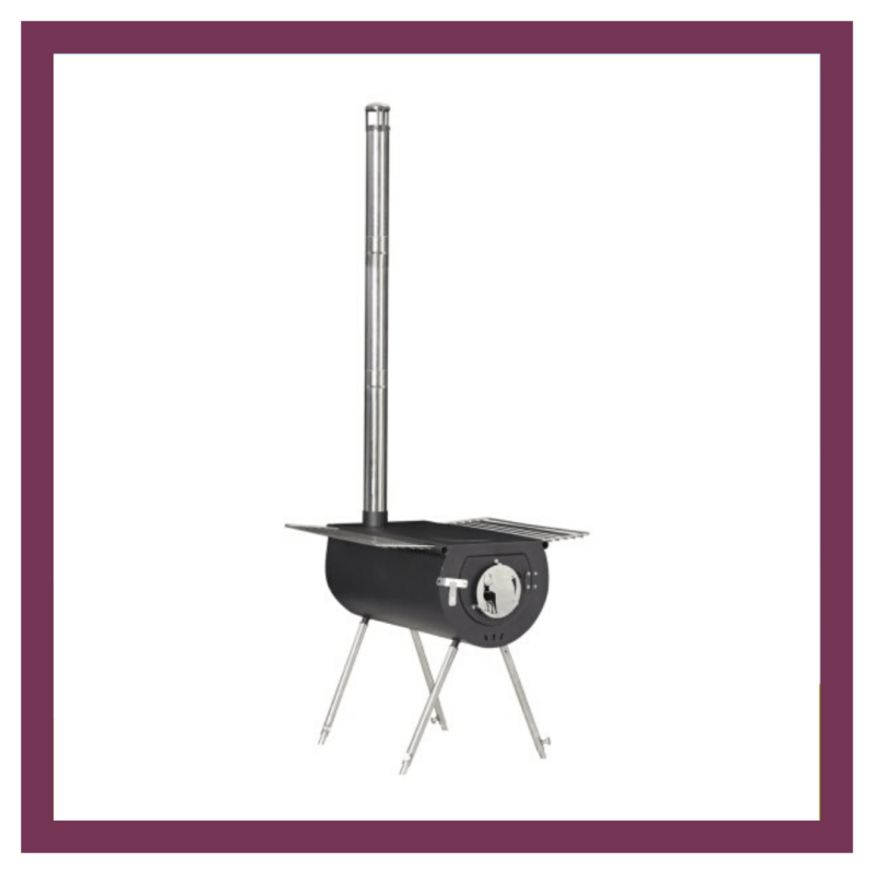 Father's Day gift ideas Portable woodburning stove