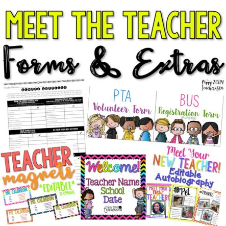Elementary teacher looking for meet the teacher night ideas? This posts contains meet the teacher night gifts ideas as well as how to organize your classroom for this back to school event! There are free meet the teacher gifts to students included!