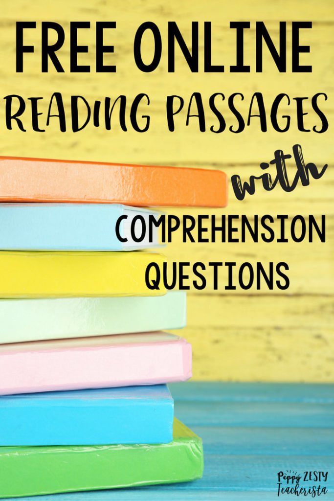 Free Online Reading Comprehension Websites – Peppy Zesty Teacherista