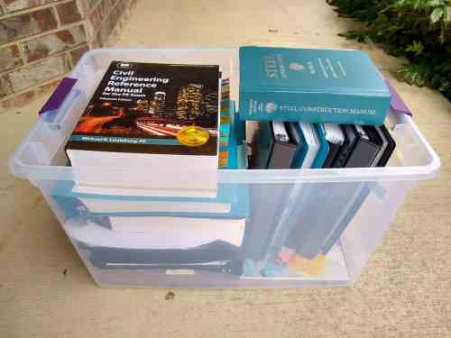 How To Carry Books Into The PE Exam Test Tips PE Preparation