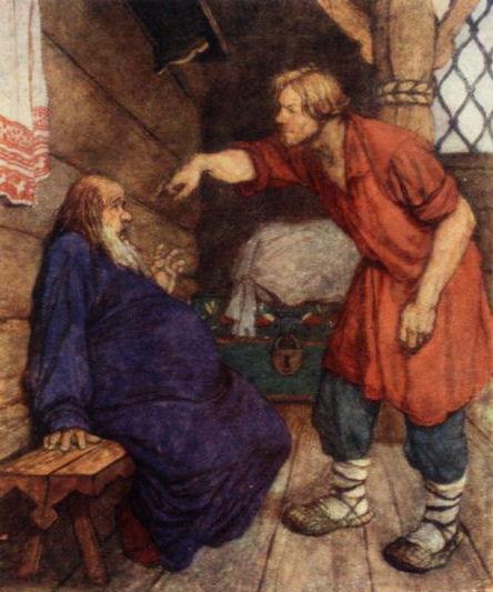 Сказка о Попе и работнике его Балде