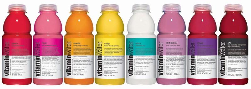 Gamme Glacéau de VitaminWater