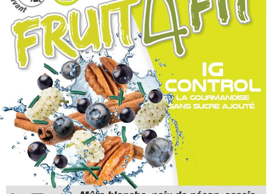 Lancement d'une gamme de nutrition sportive FRUIT4FIT
