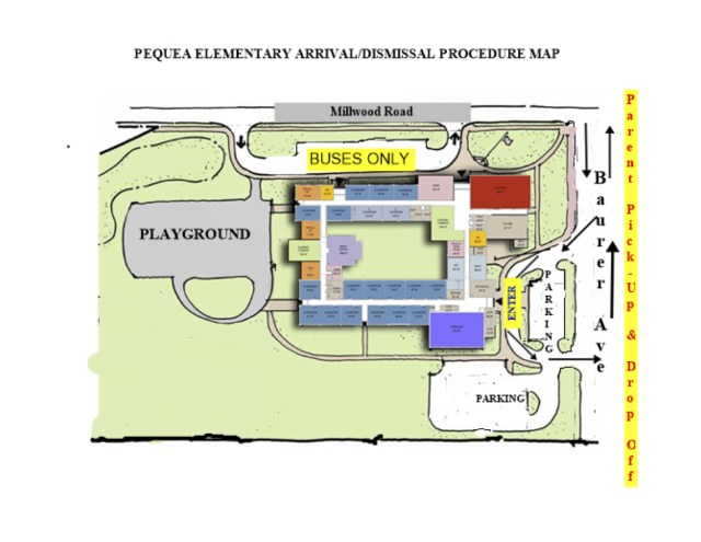 Pequea Arrival-Dismissal Map