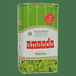 Amanda Compuesta con Hierbas Yerba Mate 500 g