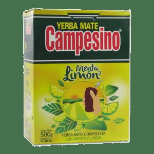 Campesino Menta y Limón Yerba Mate 500 g
