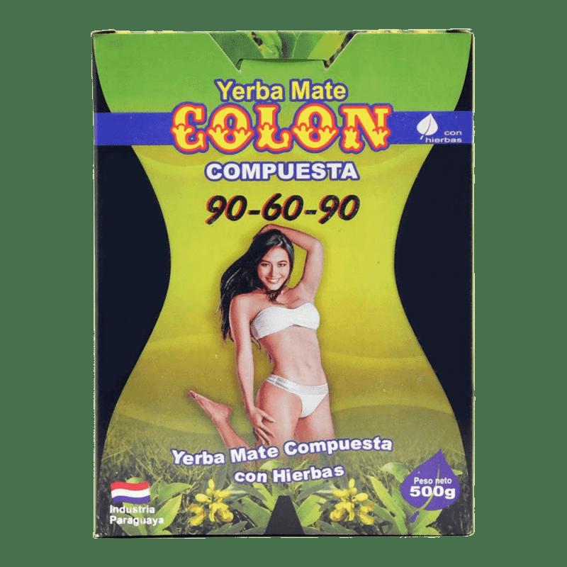 Colón Compuesta (90-60-90) Yerba Mate 500 g