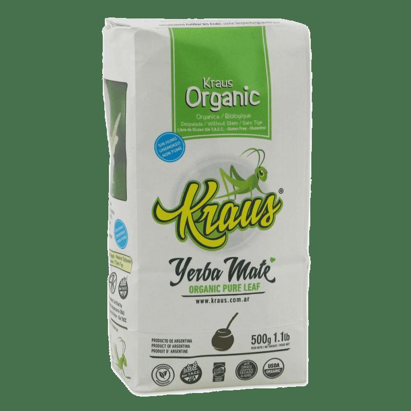 Kraus Organic Pure Leaf Yerba Mate 500 g