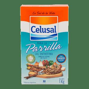 Sal Entrefina Parrillera Celusal 1 kg