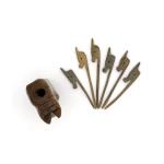Palillos de Palo Santo para picadas Caballo Detalle