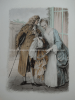 Ilustração de Paul-Émile Bécat para La Double Inconstance de Marivaux