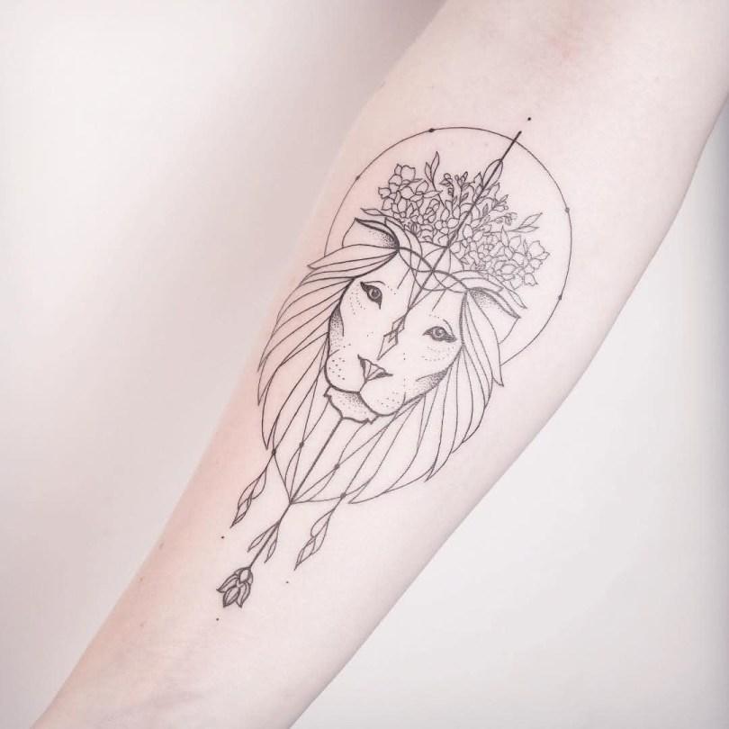 Tatuagem Feminina 2022 Minimalista