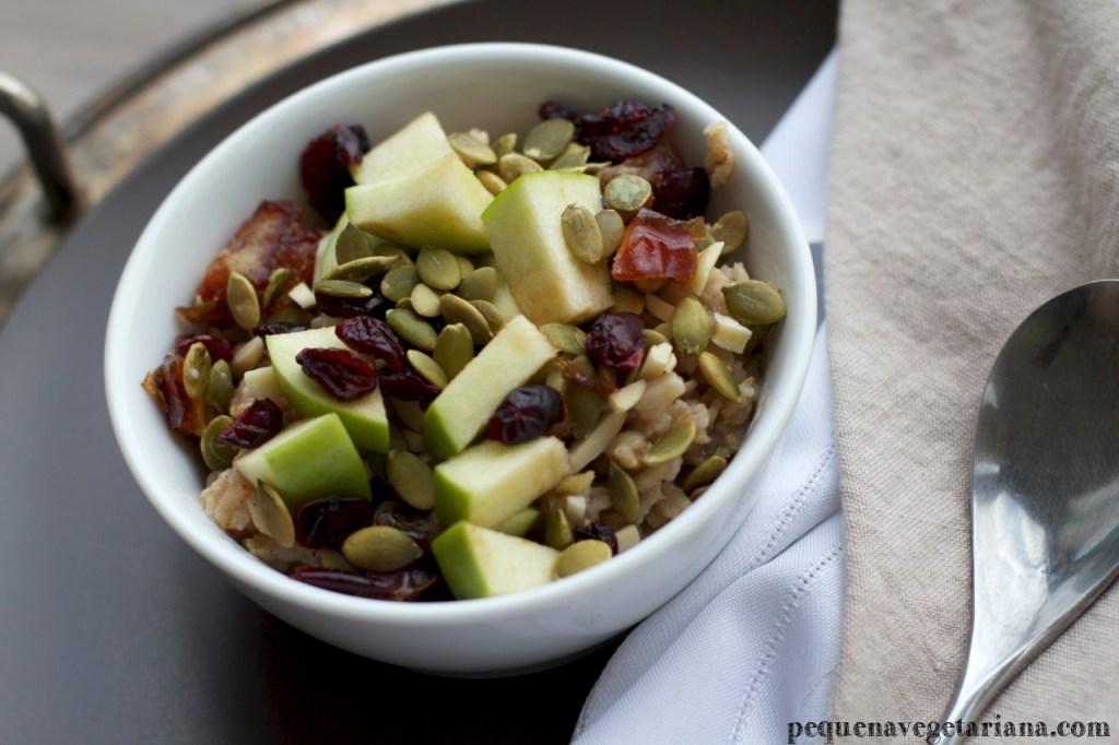 mingau de aveia, receitas saudáveis, receitas vegetarianas para o cafe da manha, receitas simples